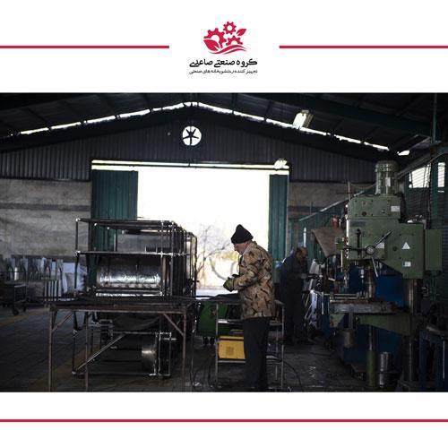 تصاویری از کارخانه گروه صنعتی صاعدی